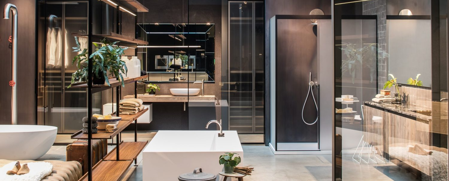 Boffi Showroom Antwerp bathroom