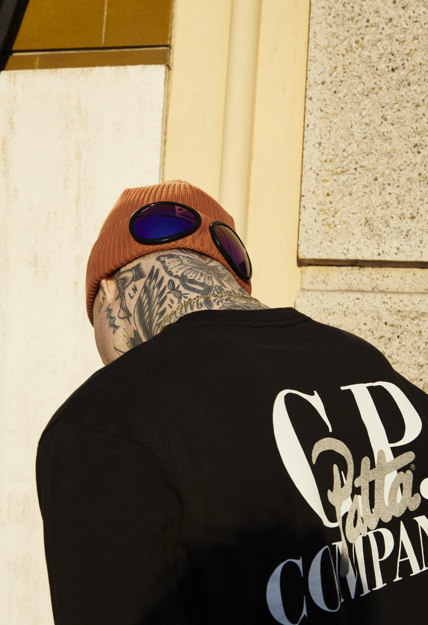 C.P. Company goggle hat