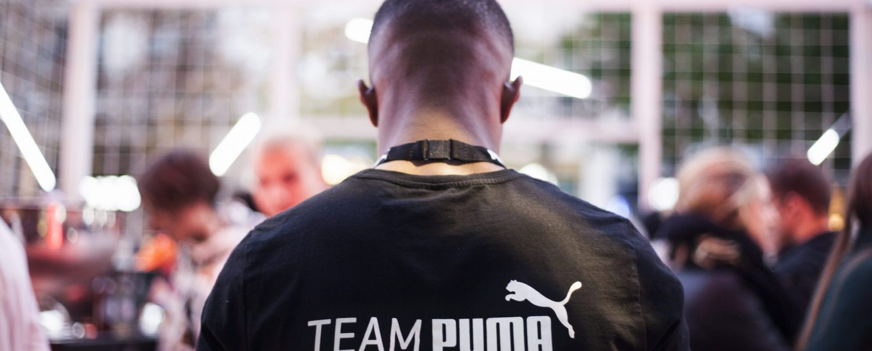 Nightingale Puma flagship store Antwerp launch team puma