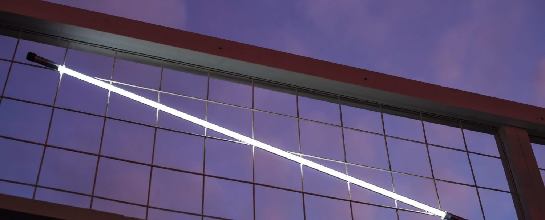 Nightingale Puma flagship store Antwerp launch light