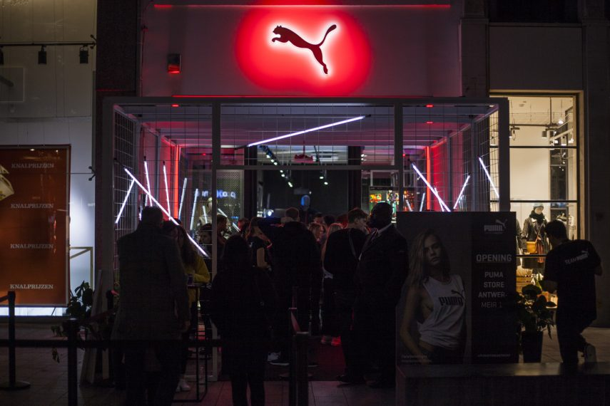 Puma flagship store Antwerp Opening